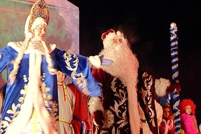 Анонс празднования Нового года в Благовещенске