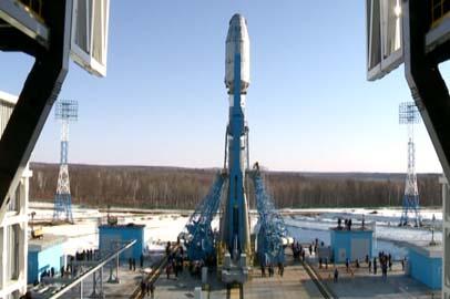 На космодроме Восточный успешно прошел «сухой вывоз» ракеты «Союз-2»