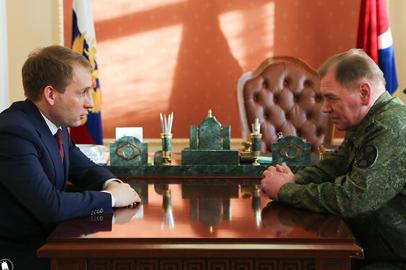 Приамурье посетил командующий Восточным округом войск нацгвардии