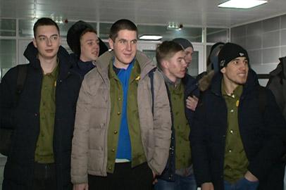 На Восточный прибыл первый зимний студенческий отряд