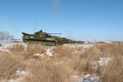 Крупные учения мотострелков начались в Восточном военном округе