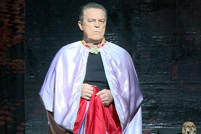 В Благовещенске показали спектакль «Мастер и Маргарита» с Иваром Калныньшем