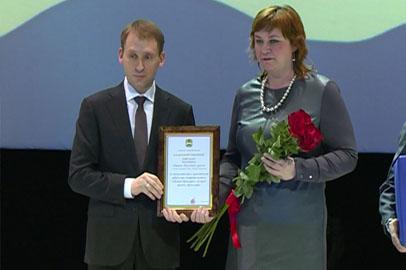 Губернатор Приамурья наградил работников СМИ за развитие журналистики