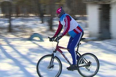 В окрестностях Моховой Пади состоялся зимний триатлон
