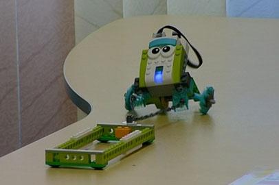 В благовещенской прогимназии начали учить робототехнике