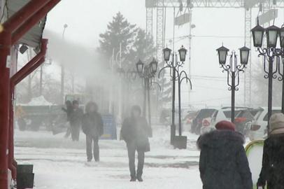 В Благовещенске выпала месячная норма снега