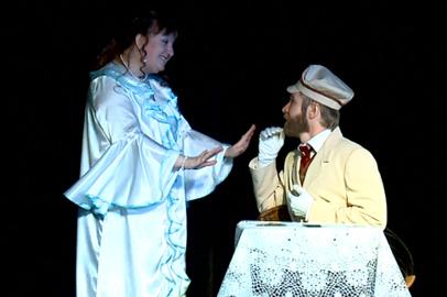 «Чеховские пьесенки» представил зрителям благовещенский народный театр