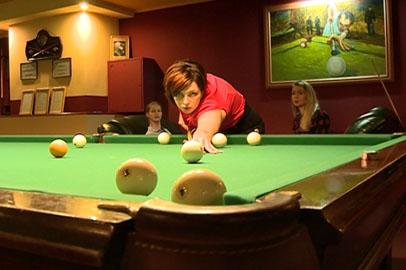 Предпраздничный турнир по бильярду среди женщин состоялся в Благовещенске