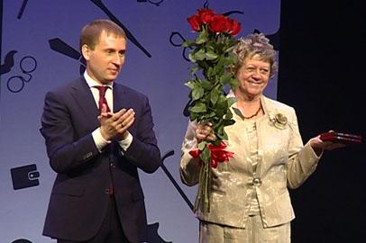 Жительница Тынды получила награду от Президента