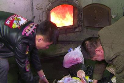 В Благовещенске уничтожили более 200 килограммов изъятой на границе продукции