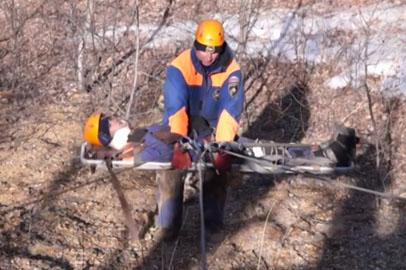 Благовещенские спасатели отработали навыки по поиску пропавших туристов