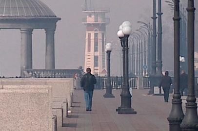Благовещенск окутало густым дымом из Китая