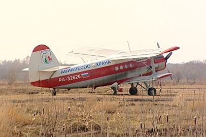 Лесные пожары в Магдагачинском районе тушат с помощью авиатехники