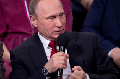 Журналистка из Еврейской автономии спросила Владимира Путина об оптимизации медицины