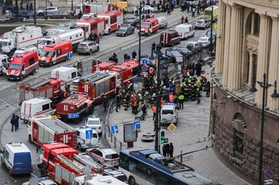 Корреспондент ГТРК «Амур» рассказал о ситуации в Санкт-Петербурге после взрыва в метро