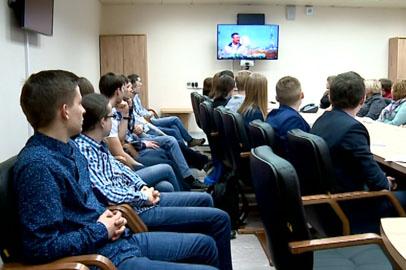 Студенты АмГУ пообщались с космонавтами в режиме телемоста