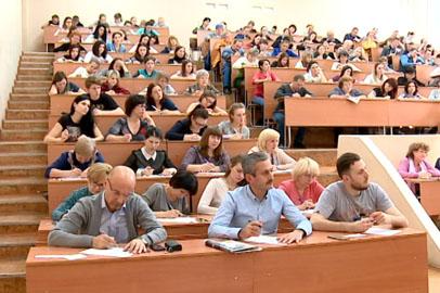 «Тотальный диктант» в Благовещенске писали журналисты, блогеры и педагоги