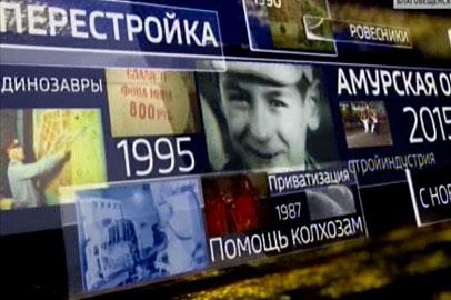 К 55-летию амурского ТВ. ГЛАВНЫЕ КАДРЫ НАШЕЙ ЖИЗНИ. 5 серия