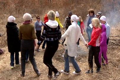 Пасхальные гуляния на природе организовали жители областной столицы