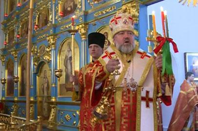 В Благовещенском кафедральном соборе прошло праздничное богослужение
