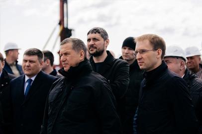 Вице-премьер Юрий Трутнев побывал в Белогорске