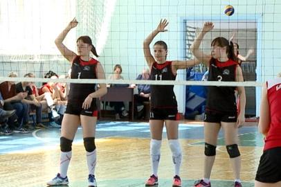 В Приамурье определили победителей чемпионата области по волейболу