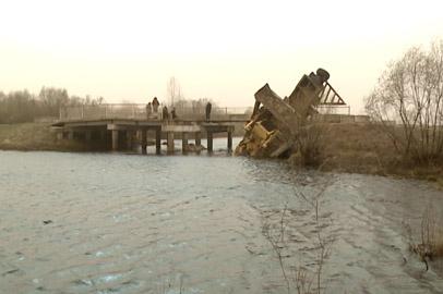 Рухнувший мост в селе Ерковцы решено восстанавливать
