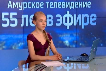 Финалисты юбилейного конкурса ГТРК «Амур» попробовали себя в роли ведущих
