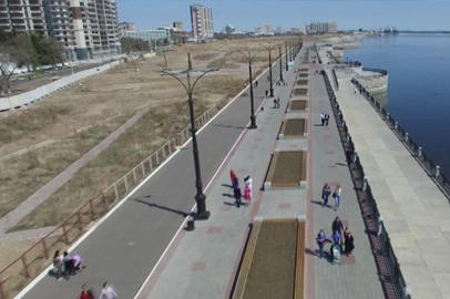 Александр Козлов: Реконструкция набережной Амура возобновится в июне