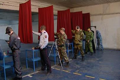 Амурские правоохранители посоревновались в пулевой стрельбе