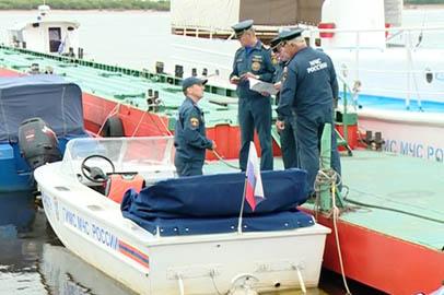 Суда центра ГИМС прошли аттестацию перед патрулированием амурских рек