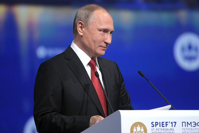 Владимир Путин отметил улучшение инвестиционного климата в Амурской области