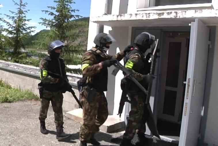 Антитеррористические учения прошли на Зейской ГЭС