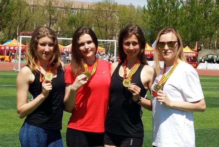 Легкоатлеты из АмГУ заняли девять призовых мест на спартакиаде в Хэйхэ