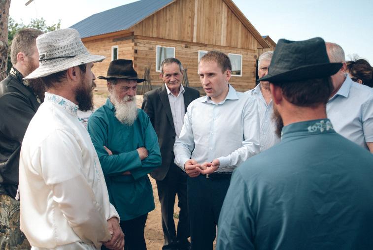 Амурские власти оказывают помощь переселенцам-староверам