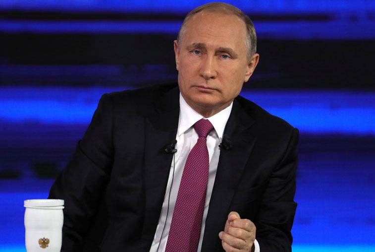 Низкие зарплаты, бесплатные гектары, расселение из бараков: Владимир Путин ответил на вопросы россиян
