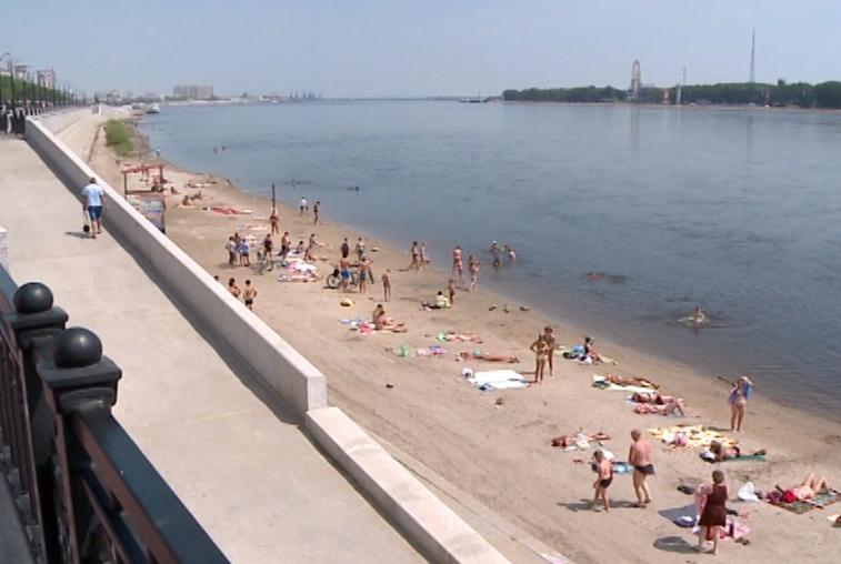 Безопасность амурских пляжей проверяют сотрудники ГИМС