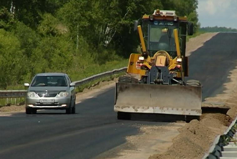 В Бурейском районе завершается ремонт участка трассы Благовещенск-Гомелевка