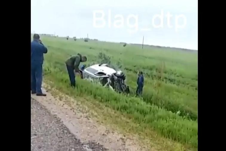 Два человека погибли при лобовом столкновении автомобилей в Приамурье