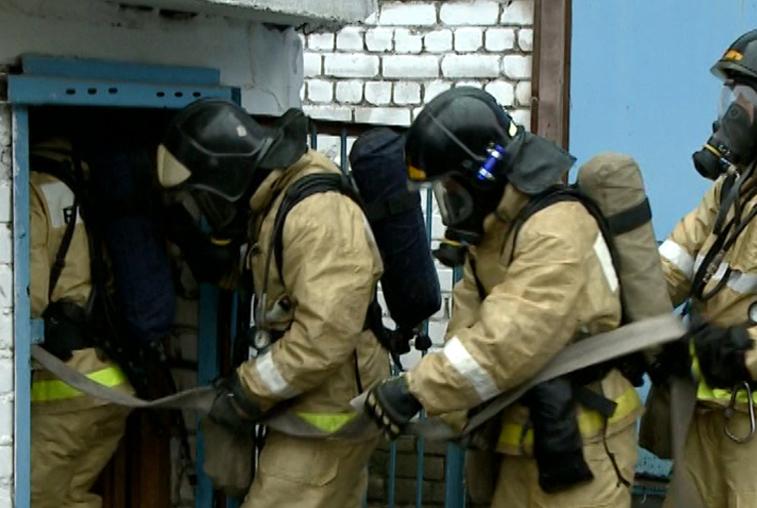 Соревнования между отрядами газодымозащитной службы впервые прошли в Приамурье