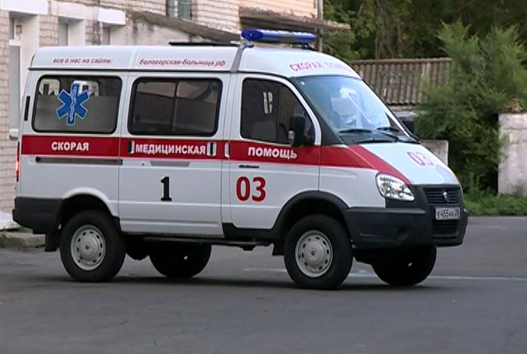 В Белогорске пострадавший в ДТП ударил врача скорой помощи
