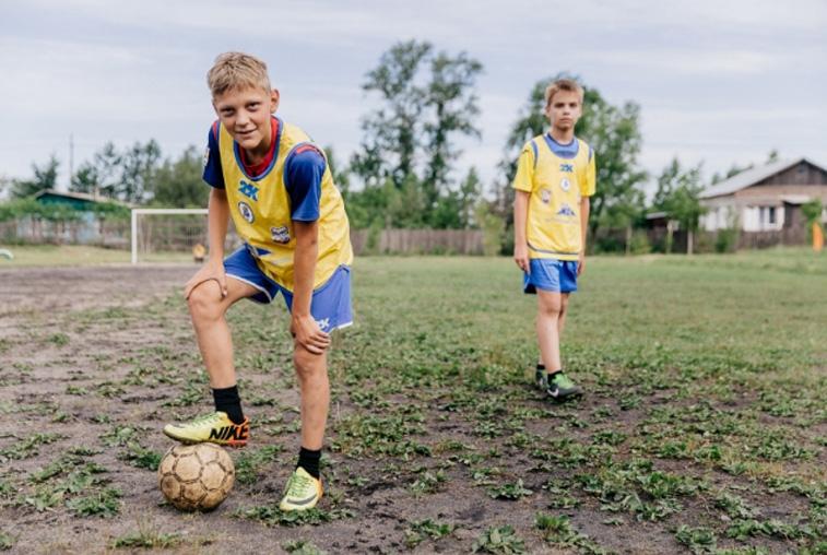 Современный стадион появится в школе Екатеринославки