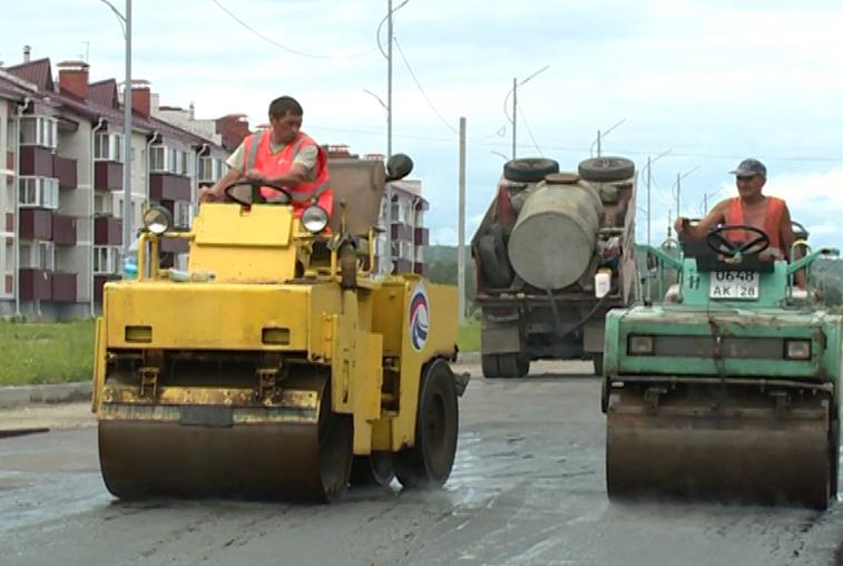 К октябрю в Благовещенске отремонтируют свыше 30 километров дорог