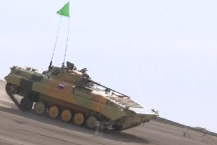 Российские военные превзошли соперников на Армейских международных играх