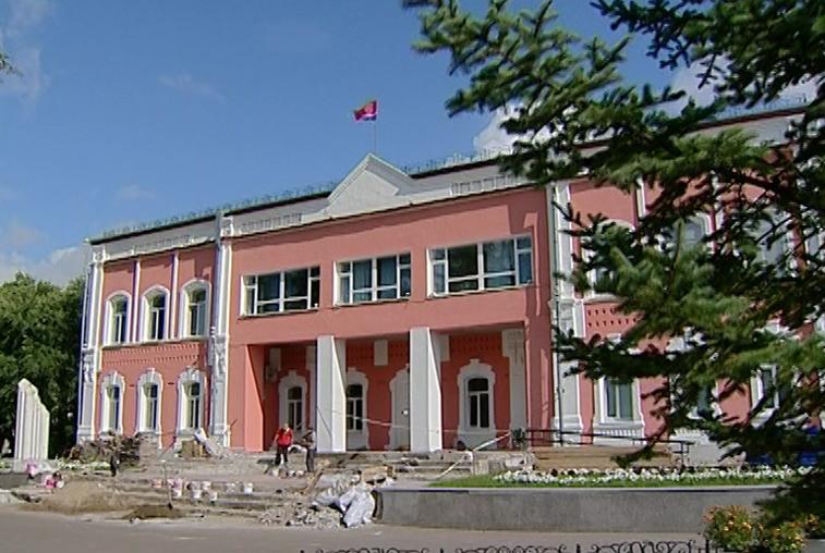 Ремонт Дворца бракосочетания в Благовещенске близится к завершению