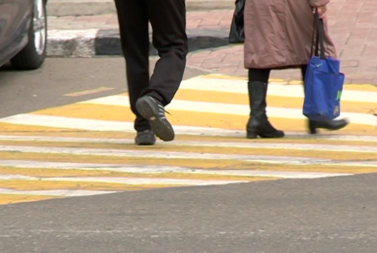 В Приамурье растет число наездов на пешеходов