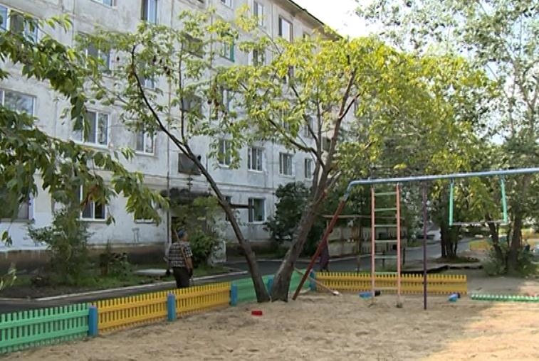 В Приамурье преображают дворы по федеральной программе