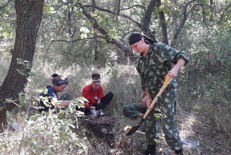 Амурские поисковики обнаружили массовое захоронение советских солдат в Волгоградской области