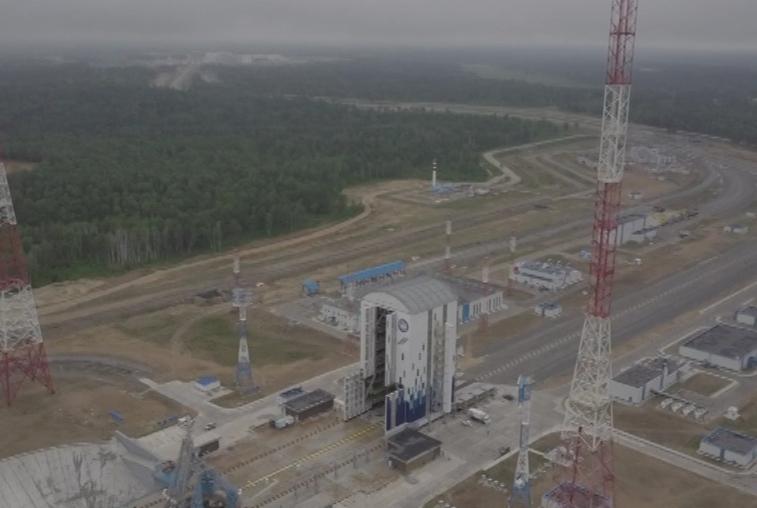 Восточный готов к приему блоков ракеты «Союз-2.1а»