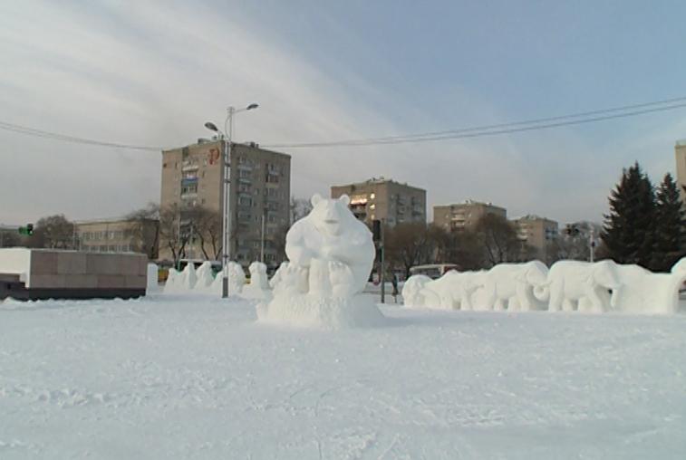 Эскизы фигур для снежного городка ждут от благовещенцев